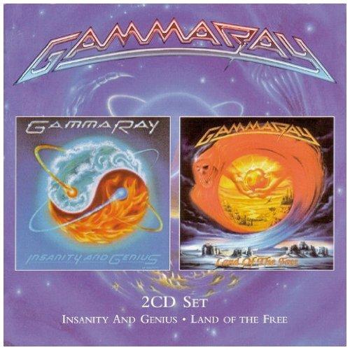 Gamma Ray - Insanity & Genius/land Of The Free - Zortam Music