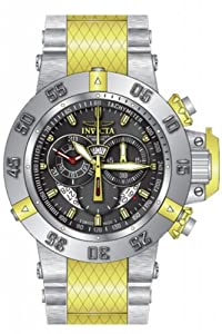 Invicta Men's 80508 Subaqua Quartz 3 Hand Black Dial Watch