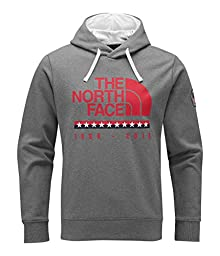 The North Face Men\'s USA Pullover Hoodie (M, TNF Medium Grey Heather)