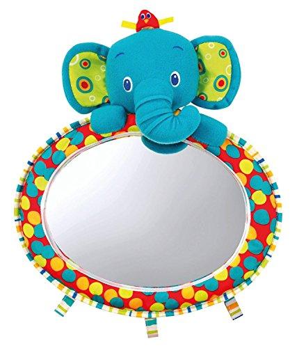 """Bright Starts, Specchio giocattolo da auto """"See & Play"""", colorato, con superficie curva"""