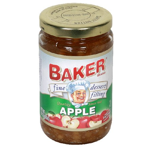 Buy Baker Fine Dessert Filling, Apple, 10-Ounce Jars (Pack of 8) (Bakers, Health & Personal Care, Products, Food & Snacks, Baking Supplies, Pie & Cobbler Fillings)