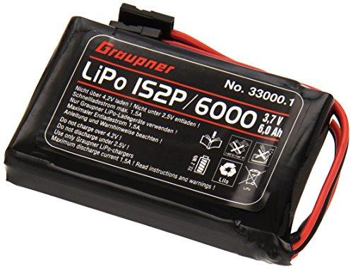 GraupnerSJ-330001-Senderakku-Flach-Li-1SxP6000-37-V-TX