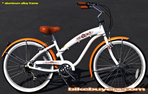 Sixthreezero Women S Be 3 Speed Beach Cruiser Bicycle