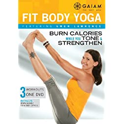 Gwen Lawrence Fit Body Yoga DVD