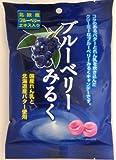 川口製菓 ブルーベリーみるく 90g×10袋