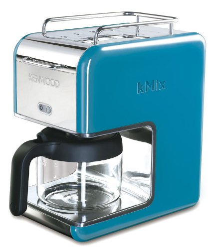 Kenwood kMix Boutique CM023 Filter Coffee Maker, Bright Blue