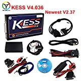 VXDIAG 2017 New ECU Chip Tuning Kit Kess Master Version V2.37 OBD2 No Tokens Limited Hardware V4.036 Add OBD Function