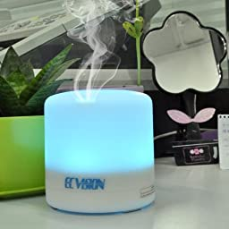 ECVISION Rechargeable Cordless 100ML Aromatherapy Essential Oil Purifier Diffuser Air Humidifier -Energy Saving Quiet Ultrasonic Humidifier -3 Timer setting Oil Aroma diffuser(Wireless)