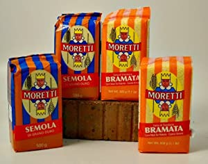 Amazon.com : Moretti Bramati Polenta and Semola (4 bags