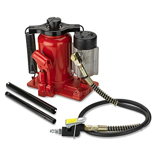 Tooluxe 31010L Low Profile Air Hydraulic Bottle Jack | 20 Ton (20 Ton Air Jack compare prices)