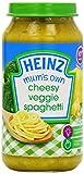 Heinz Mum's Own Cheesy Veggie Spaghetti Jar 10 Months Plus 250 g (Pack of 6)