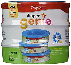 Amazon.com: Playtex Diaper Genie Refill (810 count total