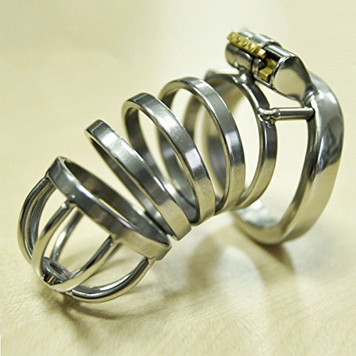 stainless steel metal cockring penis sleeve male chastity device cock cage mens dick bondage adult sex toys for men cages