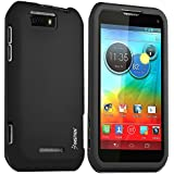 Insten® Snap-On Rubber Coated Case Compatible with Motorola Photon Q 4G LTE XT897