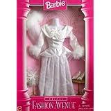 Barbie BRIDAL Fashion Avenue Collection WEDDING Outfit W Faux Fur (1996)