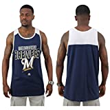 Milwaukee Brewers MLB Majestic Men's Tank Top Shirt