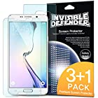 Galaxy Note 5 Screen Protector - Invisible Defender [3 Front+1 Back/MAX HD CLARITY] Lifetime Warranty Perfect Touch Precision High Definition (HD) Clarity Film (4-Pack) for Samsung Galaxy Note 5