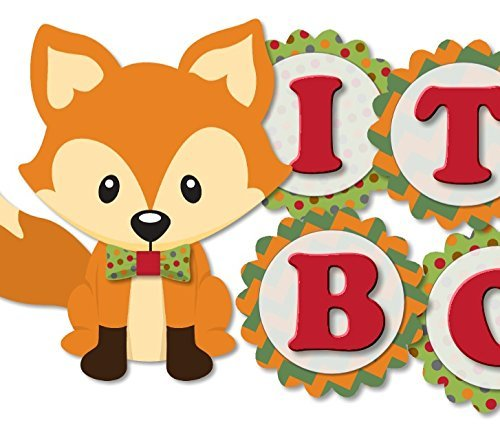 woodland-fox-and-racoon-its-a-boy-baby-shower-garland-bunting-banner