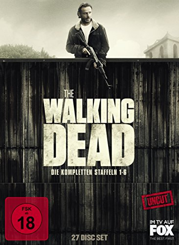 The Walking Dead - Die kompletten Staffeln 1-6 (27 Discs, Uncut)