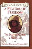 A Picture of Freedom: The Diary of Clotee, a Slave Girl, Belmont Plantation, Virginia 1859 (Dear America Series ) (0439555019) by McKissack, Patricia C.