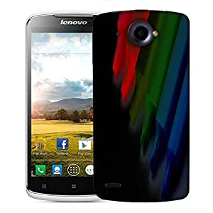 Snoogg Colorful Crayons Designer Protective Phone Back Case Cover For Lenovo S920