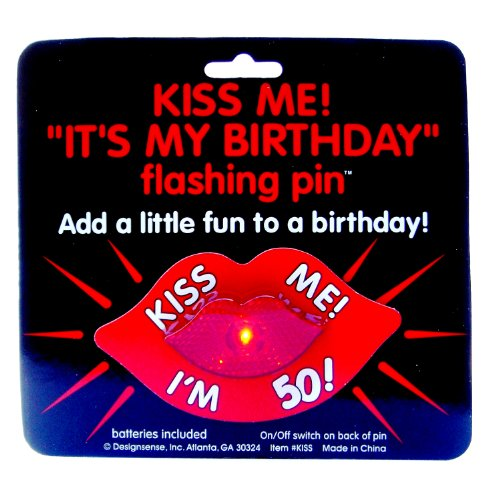 Design Sense Flashing Pin (I'm 50) - 1