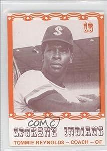 Tommie Reynolds Thomas Reynolds (Baseball Card) 1976 Spokane Indians Caruso #16 by Spokane Indians Caruso