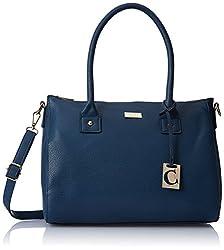 Cathy London Women's Handbag (Blue, Cathy-192)