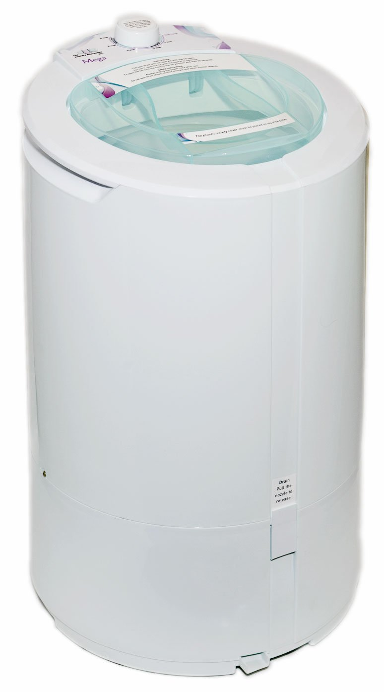 The Laundry Alternative Mega Spin Dryer, Huge 22 Pound Capacity, Ventless Portable Electric Dryer. 3 Year Warranty, 110V Apartment Size, Saves You Time And Money