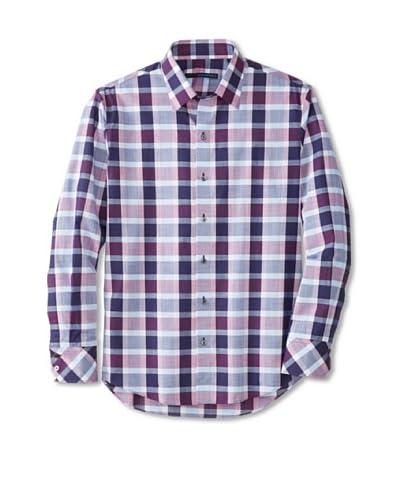 Zachary Prell Men's Calvin Checked Long Sleeve Shirt