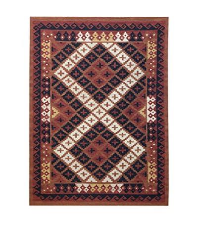 Jute & Co. Tappeto Kilim In Lana Tessuto A Mano 170 x 240 cm
