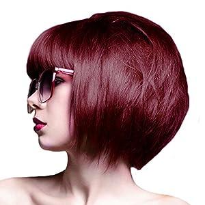 crazy color coloration pour cheveux semi permanente 100ml rouge bordeaux beaut et. Black Bedroom Furniture Sets. Home Design Ideas