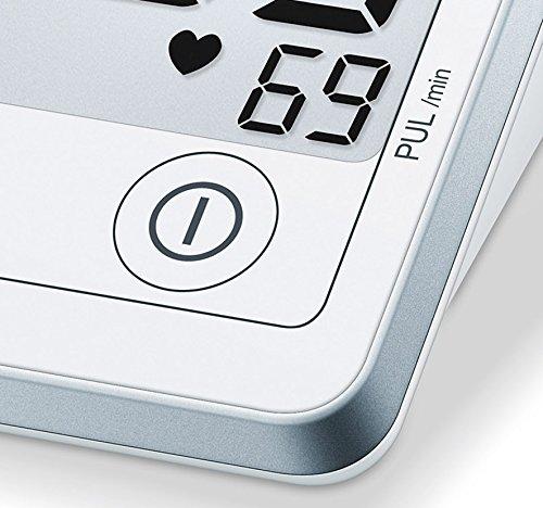 Sanitas SBM 50 Blutdruckmessgerät Oberarm, Weiß-Silber - 6