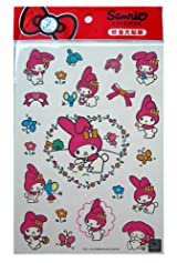 My Melody Temporary Tattoos - Sanrio My Melody Tattoos