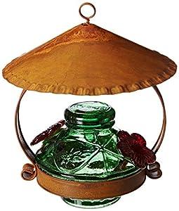 Parasol PDCSHG Pot de Creme Shelter Hummingbird Feeder Green
