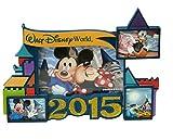Disney World Exclusive 2015 Mickey & Gang 4x6 Photo Resin Souvenir Picture Frame