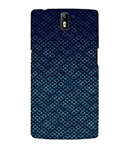 EPICCASE Blue Bubbles Mobile Back Case Cover For OnePlus One (Designer Case)