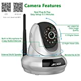 Wireless Camera, Archeer 720P WIFI Wireless IP Cloud Security Camera Network Surveillance System Pan & Tilt with Two-Way Audio and Night Vision Plug & Play