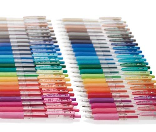 Zebra Sarasa JJS15-10C 0.4mm Gel Ink Pen (10 Colors)