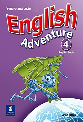 English Adventure Spain Pupils Book 4