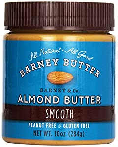 Barney Butter Smooth Almond Butter, 10 oz Jars