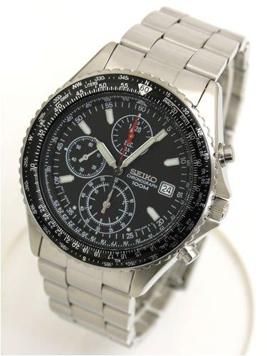 SEIKO セイコー パイロットクロノグラフ 腕時計 SND253