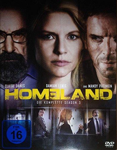 DVD * Homeland Staffel 3 [Import anglais]