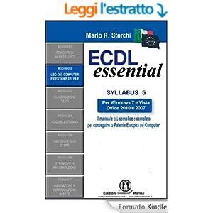 ECDL Essential - Modulo 2 - Uso del computer e gestione dei file
