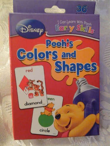 Disney I Can Learn with Winnie the Pooh and Friends Colors and Shapes - 1