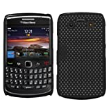 Samrick Mesh Hard Hybrid Armour Shell Protection Case for Blackberry 9700 Bold/9780 Bold - Black