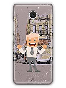 YuBingo I am the Boss Mobile Case Back Cover for Yu Yunicorn