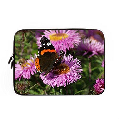 hugpillows-funda-para-portatil-funda-para-portatil-bolsa-de-mariposa-y-flor-hermoso-casos-con-cremal