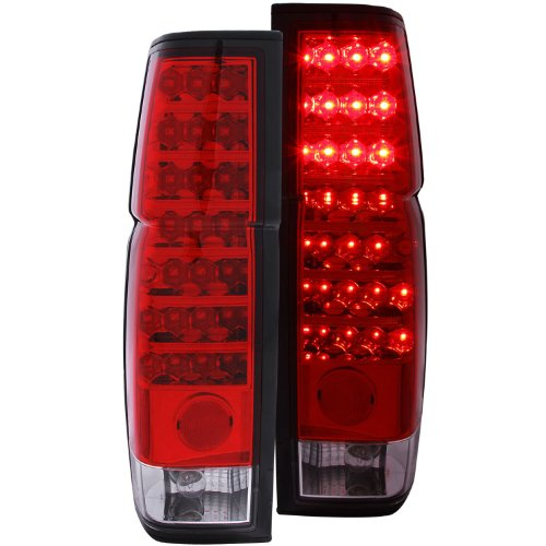 Anzo Usa 311034 Nissan Red/Clear Led Tail Light Assembly - (Sold In Pairs)