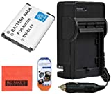 Big Mike'S En-El19 Battery & Charger Kit For Nikon Coolpix S100 S3100 S3200 S3300 S3500 S4100 S4200 S4300 S5200 S6400 S6500 Digital Camera + More